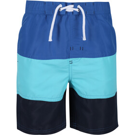 Regatta Shaul III Board Shorts Kids, washed azure/nautical blue